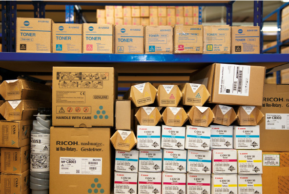 Trade Copiers is a buyer of unused, surplus consumables. With many years of experience in the printer consumable industry along with a large amount of buying power we can ensure you get the best prices for your surplus ink and toner cartridges.